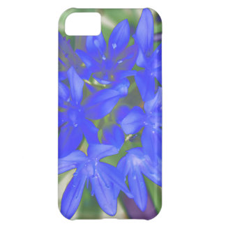 Glory of the Snow Fluorescent Blue iPhone 5 Case