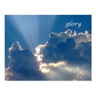 glory postcard