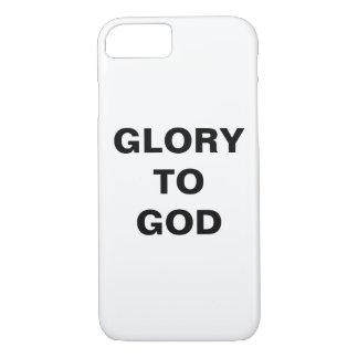 """Glory To God"" Apple iPhone 8/7 Case"