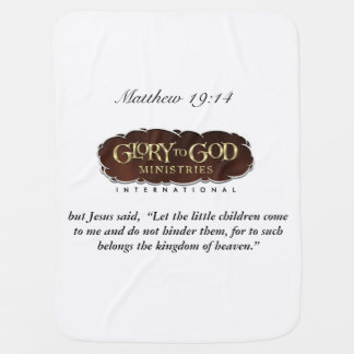 Glory To God Baby Blanket