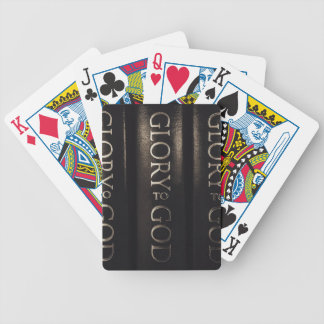 Glory to God Bicycle Playing Cards