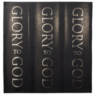 Glory to God Cloth Napkins