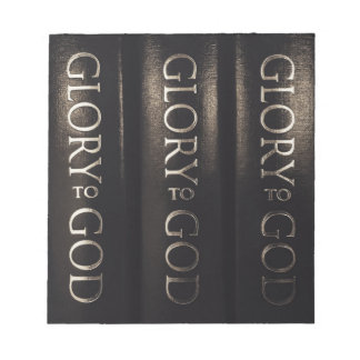 Glory to God Notepads