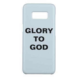 """Glory To God"" Samsung Galaxy S8 Case"