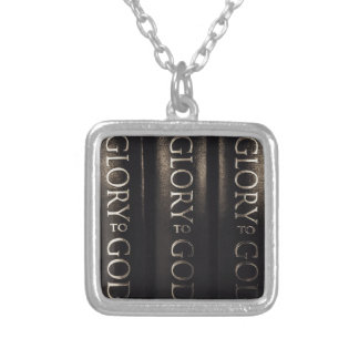 Glory to God Silver Plated Necklace