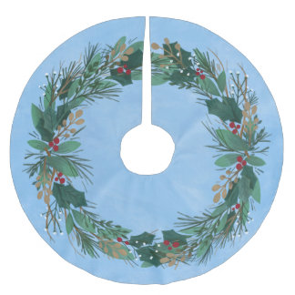 Glory to God Wreath | Christmas Tree Skirt