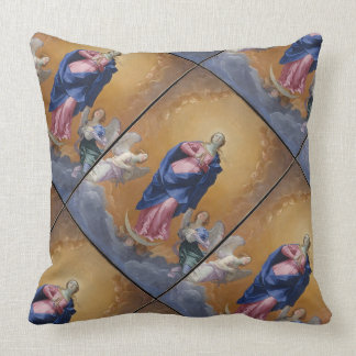 Glory To The Immaculate Conception Throw Pillow