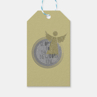 Glory to The New Born King Pack Of Gift Tags