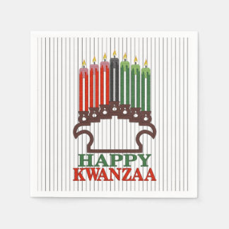 Glory To Traditions Kwanzaa Party Paper Napkins
