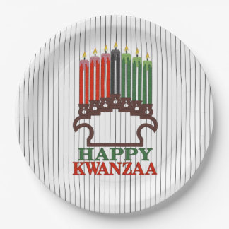 Glory To Traditions Kwanzaa Party Paper Plates