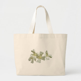Glory Vine Flowers Large Tote Bag