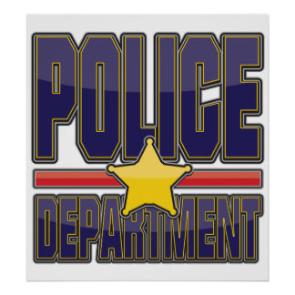 Gloss Police Department Poster