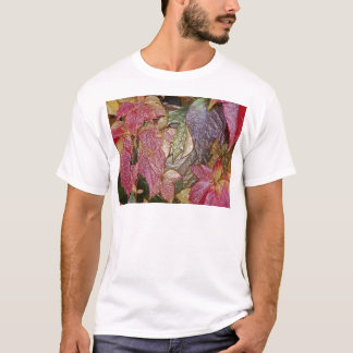 Glossy autumn leaves, Wax-Look 001.1 T-Shirt