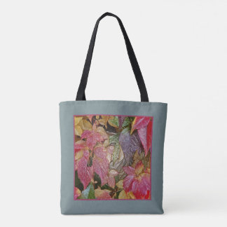 Glossy autumn leaves, Wax-Look R01.1.4 Tote Bag