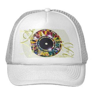 Glossy Eye Design Special Cap Trucker Hat