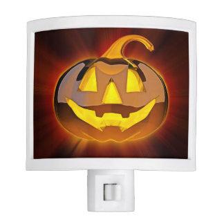 Glossy Halloween Pumpkin Night Light
