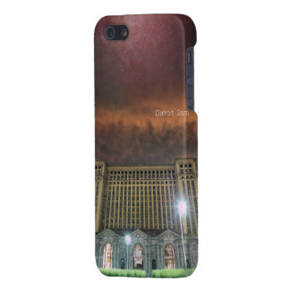 Glossy iPhone 5 Detroit Train Station Case For The iPhone 5