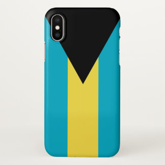 Glossy iPhone Case with Flag of Bahamas