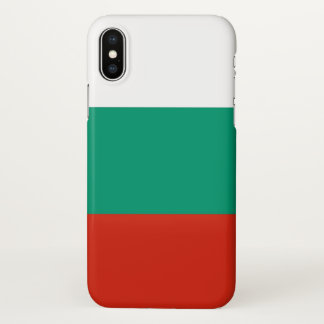 Glossy iPhone Case with Flag of Bulgaria