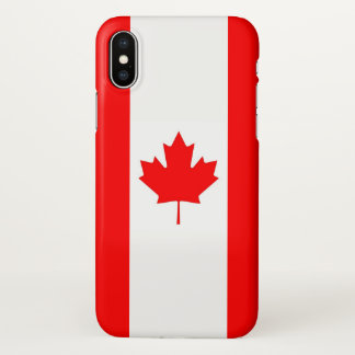 Glossy iPhone Case with Flag of Canada