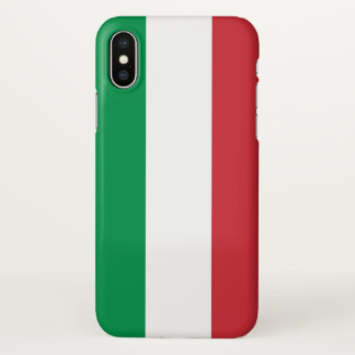Glossy iPhone Case with Flag of Italy