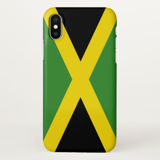 Glossy iPhone Case with Flag of Jamaica