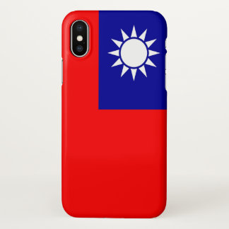 Glossy iPhone Case with Flag of Taiwan