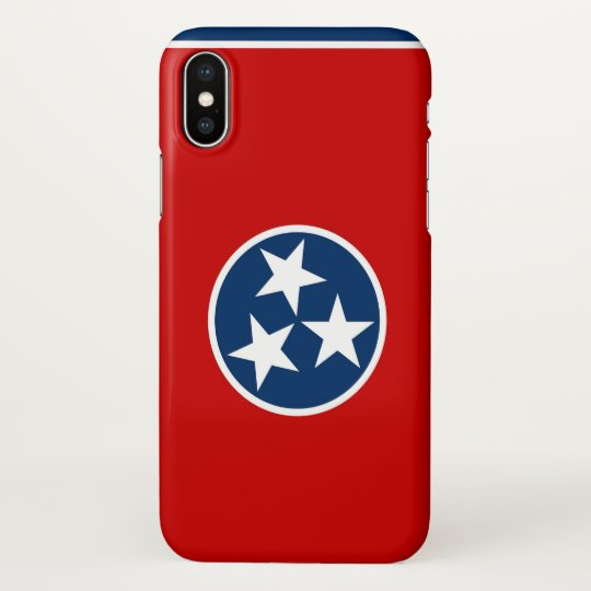 Glossy iPhone Case with Flag of Tennessee