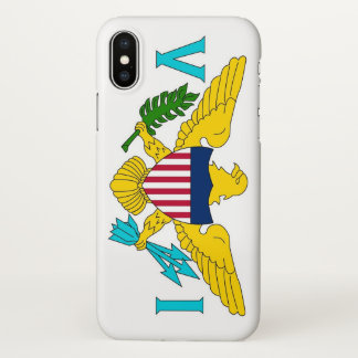 Glossy iPhone Case with Flag of Virgin Islands