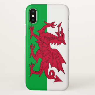 Glossy iPhone Case with Flag of Wales