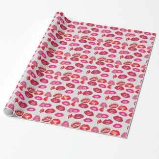 Glossy Lips Wrapping Paper