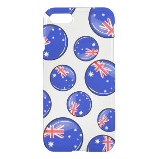 Glossy Round Australian Flag iPhone 7 Case