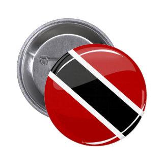 Glossy Round Trinidad and Tobago Flag Pins