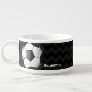 Glossy Soccer Ball Bowl