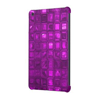 glossy tiles,hot pink (I) iPad Mini Retina Cover