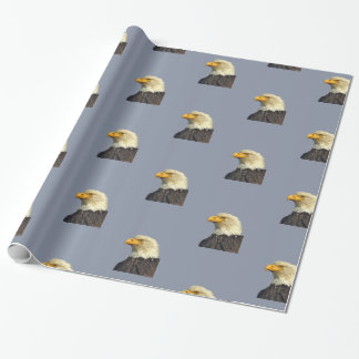 "Glossy Wrapping Paper, 30"" x 6' w/ eagle head Wrapping Paper"