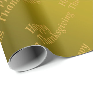 Glossy Wrapping Paper,thanksgiving,colorful+ craft Wrapping Paper
