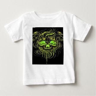 Glossy Yella Skeletons Baby T-Shirt