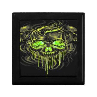 Glossy Yella Skeletons Gift Box