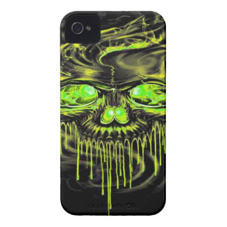 Glossy Yella Skeletons iPhone 4 Cover