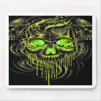 Glossy Yella Skeletons Mouse Pad