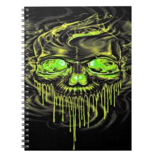 Glossy Yella Skeletons Notebook