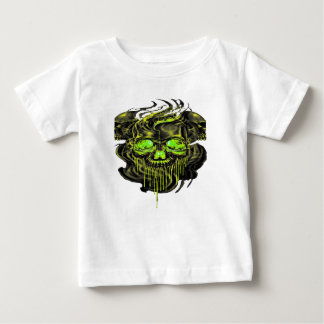 Glossy Yella Skeletons PNG Baby T-Shirt
