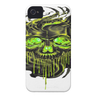 Glossy Yella Skeletons PNG iPhone 4 Case
