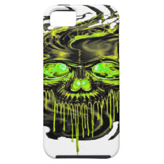 Glossy Yella Skeletons PNG iPhone 5 Cover