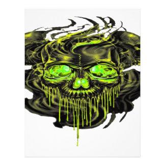 Glossy Yella Skeletons PNG Letterhead