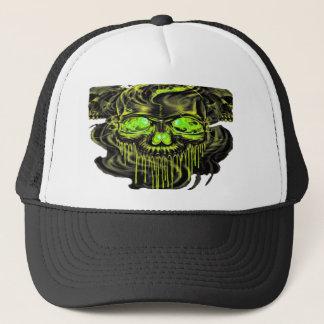 Glossy Yella Skeletons PNG Trucker Hat