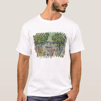 Gloucester Harbour (oil on canvas) T-Shirt