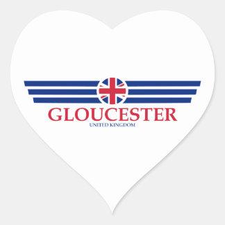 Gloucester Heart Sticker