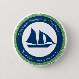 Gloucester Hornpipe and Clog Society 2 Inch Round Button